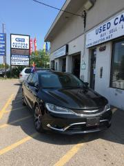 Used 2016 Chrysler 200 4dr Sdn C FWD for sale in Etobicoke, ON