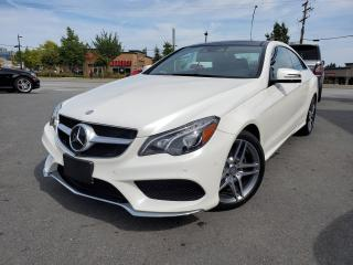 Used 2015 Mercedes-Benz E-Class 2DR CPE E 400 4MATIC for sale in Surrey, BC