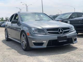 Used 2013 Mercedes-Benz C-Class 4dr Sdn C63 AMG RWD P31 Performance for sale in Oakville, ON