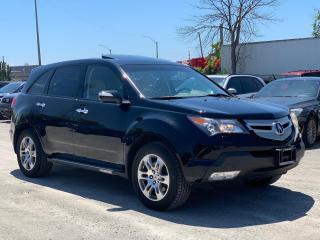 Used 2009 Acura MDX AWD 7 PASSENGER BACK UP CAM - WE APPROVE EVERYONE for sale in Oakville, ON