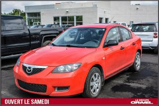 Used 2008 Mazda MAZDA3 GX AIR CLIMATISÉ for sale in Ile-des-Soeurs, QC