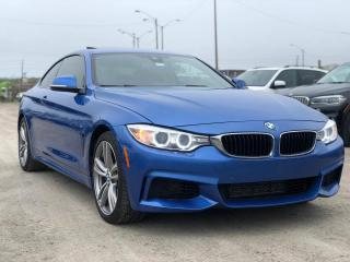 Used 2014 BMW 4 Series 435i xDrive HUD M SPORT 6 SPEED MANUAL M PERFORMANCE KIT for sale in Oakville, ON