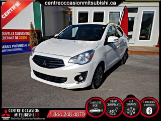 Used 2017 Mitsubishi Mirage SEL 1 PROPRIETAIRE + JAMAIS ACCIDENTE for sale in Blainville, QC