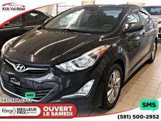 Used 2016 Hyundai Elantra *SPORT*CAMÉRA*CRUISE*AIR*BLUETOOTH* for sale in Québec, QC