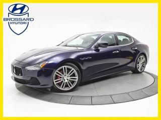 Used 2015 Maserati Ghibli Q4 NAV, CAM DE RECUL, TOIT OUVRANT for sale in Brossard, QC