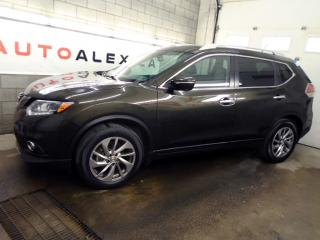 Used 2014 Nissan Rogue SL AWD NAVIGATION CAMERA BOSE CUIR TOIT MAGS for sale in St-Eustache, QC