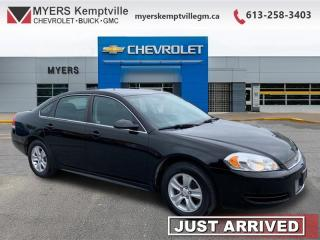 Used 2013 Chevrolet Impala LS  - OnStar -  Heated Mirrors for sale in Kemptville, ON