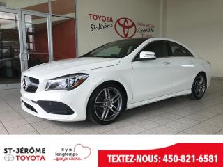 Used 2018 Mercedes-Benz CLA-Class * 4MATIC * TOIT PANO * GPS * MAGS AMG * for sale in Mirabel, QC