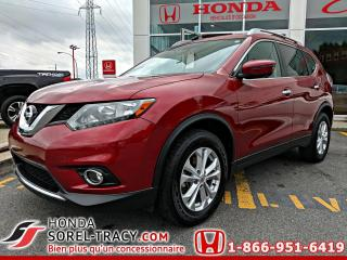 Used 2016 Nissan Rogue S+GPS+CAMERA 360 for sale in Sorel-Tracy, QC