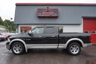 Used 2010 Dodge Ram 1500 LARAMIE 5.7 HEMI 4X4 CUIR TOIT OUVRANT GPS NAV CAM for sale in Lévis, QC