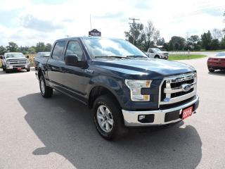 Used 2016 Ford F-150 XLT. Crew. 4X4. 5.0L. Local trade in for sale in Gorrie, ON