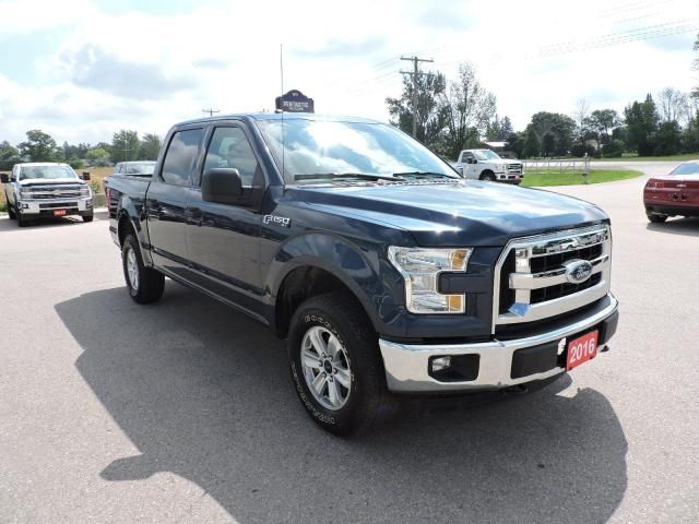 2016 Ford F-150 XLT. Crew. 4X4. 5.0L. Local trade in