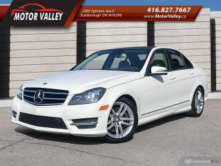 Used 2014 Mercedes-Benz C-Class C 300 4MATIC  Pano Roof No Accident! for sale in Scarborough, ON