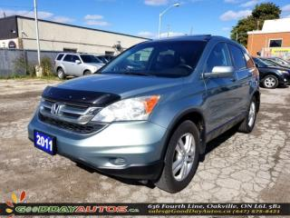 Used 2011 Honda CR-V EX-L |LOW KM|SUNROOF|NAVIGATION|AWD|AC|CERTIFIED for sale in Oakville, ON