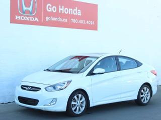 Used 2013 Hyundai Accent GLS, SUNROOF, HEATED SEATS for sale in Edmonton, AB