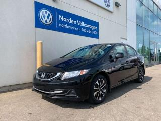 Used 2013 Honda Civic Sdn EX W/ SUNROOF - 5SPD M/T / HEATED SEATS for sale in Edmonton, AB