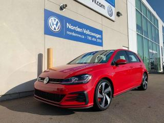 Used 2018 Volkswagen Golf GTI Autobahn / Drivers package/ Clark Cloth/DSG! for sale in Edmonton, AB