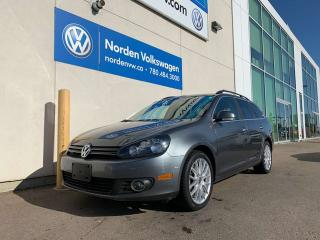 Used 2014 Volkswagen Golf Wagon Highline 4dr FWD Wagon - TDI MANUAL! RARE! NAV PACK! for sale in Edmonton, AB