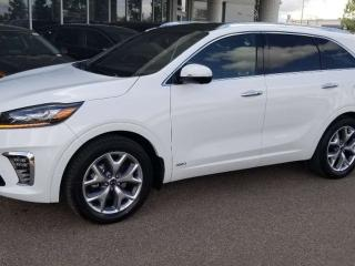 Used 2020 Kia Sorento SX V6 AT; AWD, 7PASS, TOWING, LEATHER, BLUETOOTH, BACKUP CAM, ADVANCED SAFTEY AND MORE for sale in Edmonton, AB