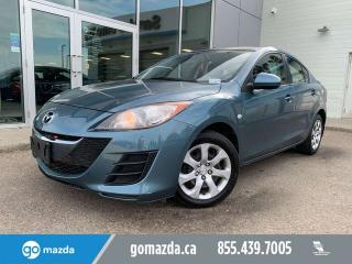 Used 2010 Mazda MAZDA3 GX SEDAN AUTO A/C POWER OPTIONS for sale in Edmonton, AB