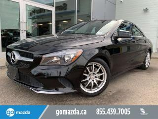 Used 2017 Mercedes-Benz CLA-Class CLA 250 4MATIC LEATHER SUNROOF NAV LOW KMs for sale in Edmonton, AB
