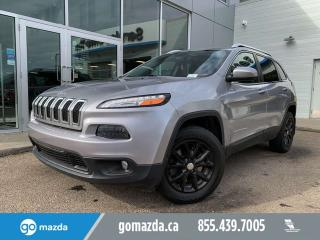 Used 2015 Jeep Cherokee NORTH 4X4 SUNROOF BACKUP CAM HEATED SEATS for sale in Edmonton, AB