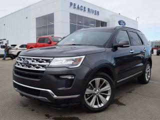 Used 2019 Ford Explorer LIMITED for sale in Peace River, AB
