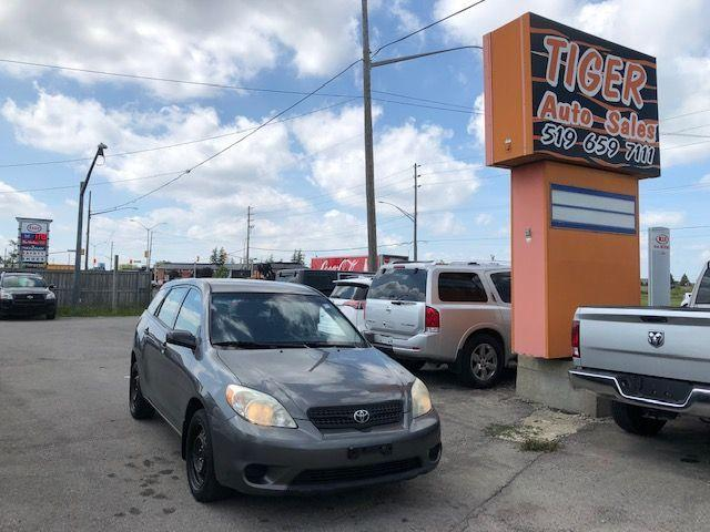 2006 Toyota Matrix **ONLY 194KMS**RUNS WELL**MANUAL**AS IS SPECIAL