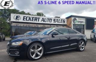 Used 2010 Audi A5 PREMIUM S-LINE QUATTRO 6-SPEED MANUAL!! for sale in Barrie, ON