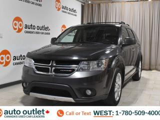 Used 2014 Dodge Journey Rt, 3.6L V6, Awd, Third row 7 passenger seating, Heated leather seats, Heated steering wheel, Navigation, Backup camera, Sunroof, Bluetooth for sale in Edmonton, AB