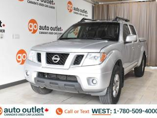 Used 2009 Nissan Frontier Se, 4.0L V6, Crew cab, Short box, Heated cloth seats, Sunroof for sale in Edmonton, AB