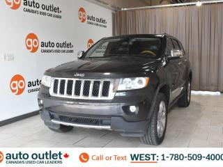 Used 2011 Jeep Grand Cherokee Overland, 5.7L V8, 4wd, Navigation, Front & rear heated leather seats, Backup camera, Sunroof, Bluetooth for sale in Edmonton, AB