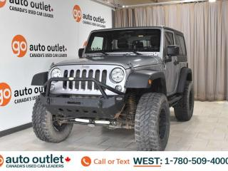 Used 2014 Jeep Wrangler LIFTED SPORT!! LOW KMS for sale in Edmonton, AB
