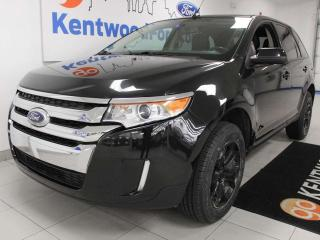 Used 2013 Ford Edge SEL AWD with NAV, sunroof, heated power leather seats, keyless entry and a back up cam for sale in Edmonton, AB
