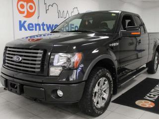 Used 2012 Ford F-150 FX4 Off Road with keyless entry, power seats, and sunroof for sale in Edmonton, AB