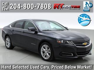 Used 2015 Chevrolet Impala LT for sale in Winnipeg, MB