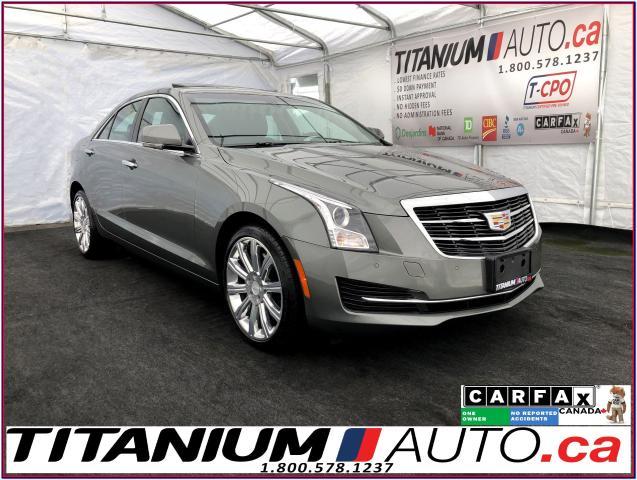 2016 Cadillac ATS Luxury+AWD+GPS+Camera+Apple Play+Bose+Park Sensors
