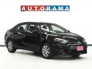 Used 2015 Toyota Corolla LE Backup Cam for sale in Toronto, ON