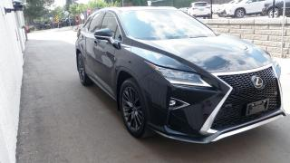 Used 2017 Lexus RX 350 WE BUY OUT YOUR LEASE  F SPORT 3 F-Sport for sale in Toronto, ON