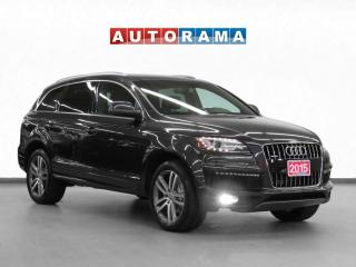 Used 2015 Audi Q7 3.0L TDI 4WD Vorsprung Navi Leather PSunroof 7Pass for sale in Toronto, ON