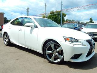 Used 2015 Lexus IS 350 AWD.Premium.Brown Leather.Roof.Camera for sale in Kitchener, ON