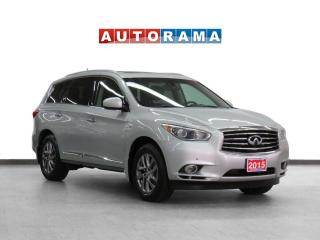 Used 2015 Infiniti QX60 4WD Navigation Leather Sunroof Backup Cam 7Pass for sale in Toronto, ON