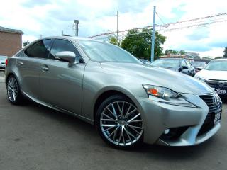 Used 2016 Lexus IS 300 AWD.Luxury.Navigation,Camera.BSM.Park Assist. for sale in Kitchener, ON