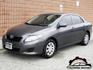Used 2010 Toyota Corolla CE || CERTIFIED || MANUAL | for sale in Waterloo, ON