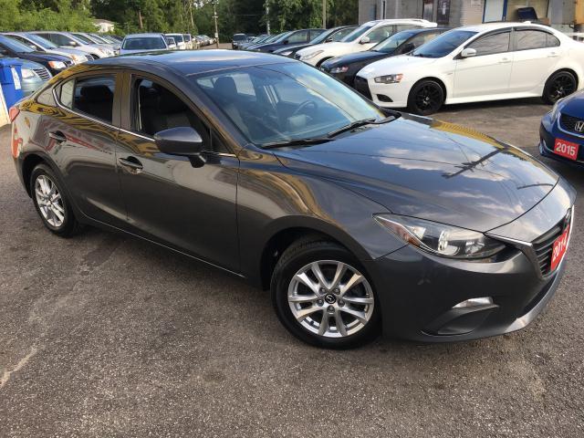 2014 Mazda MAZDA3 GS-SKY/ AUTO/ REVERSE CAM/ POWER GROUP/ ALLOYS!