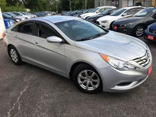 Used 2011 Hyundai Sonata GL/ AUTO/ BLUETOOTH/ POWER GROUP/ ALLOYS/ LOADED! for sale in Scarborough, ON