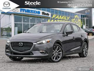 Used 2018 Mazda MAZDA3 GT W/ Leather Navigation for sale in Dartmouth, NS