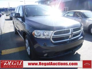 Used 2011 Dodge Durango SXT 4D Utility 4WD for sale in Calgary, AB