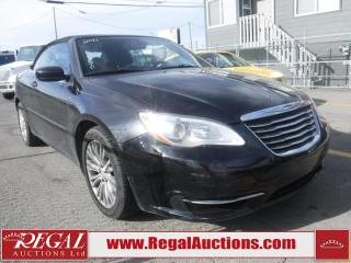 Used 2011 Chrysler 200 Touring 2D Convertible for sale in Calgary, AB