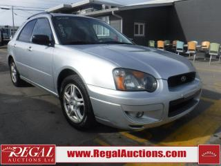 Used 2005 Subaru IMPREZA RS 4D SPORT WAGON 4WD for sale in Calgary, AB
